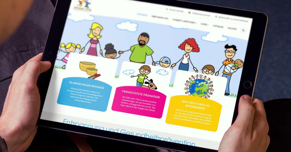 webdesign-amanavita-gesundheitspraevention